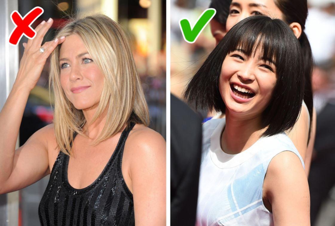 Japanese women don't dye their hair