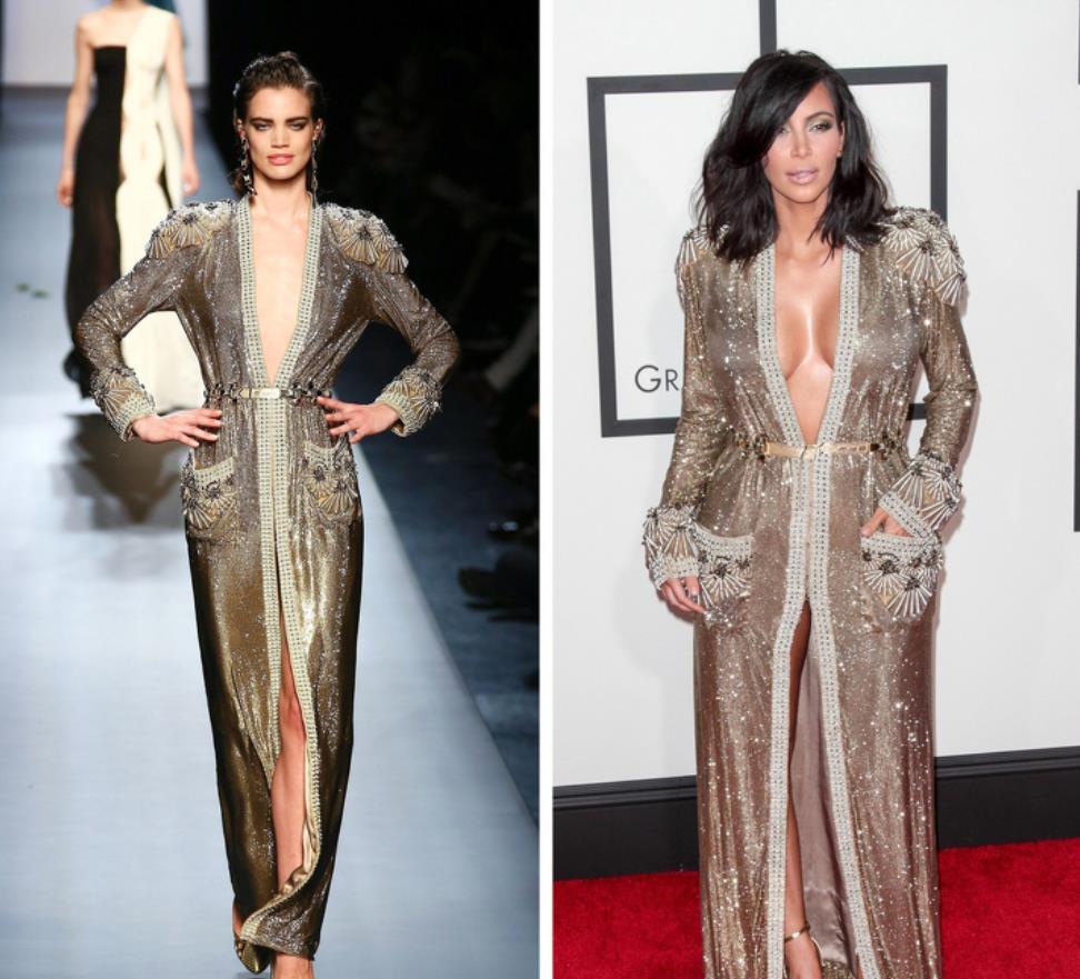 Jean Paul Gaultier - Kim Kardashian