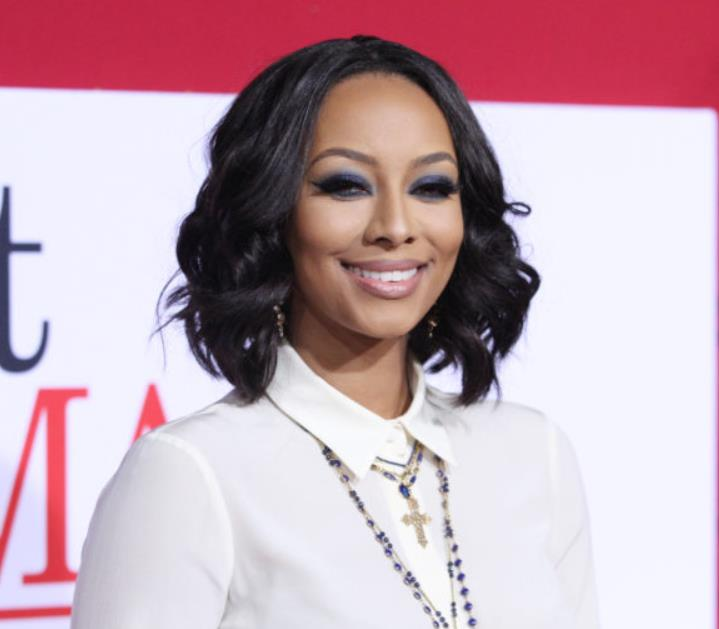 Keri Hilson stylized long bob