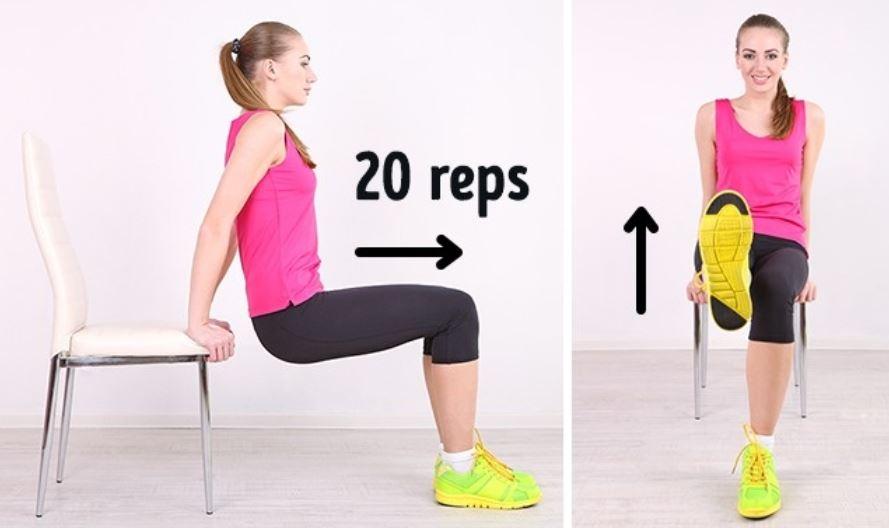 Leg Raises abs exercises