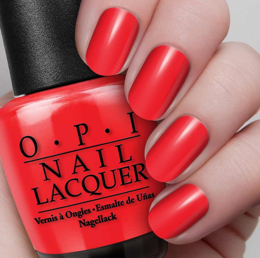 OPI Nail Lacquer in Big Apple Red