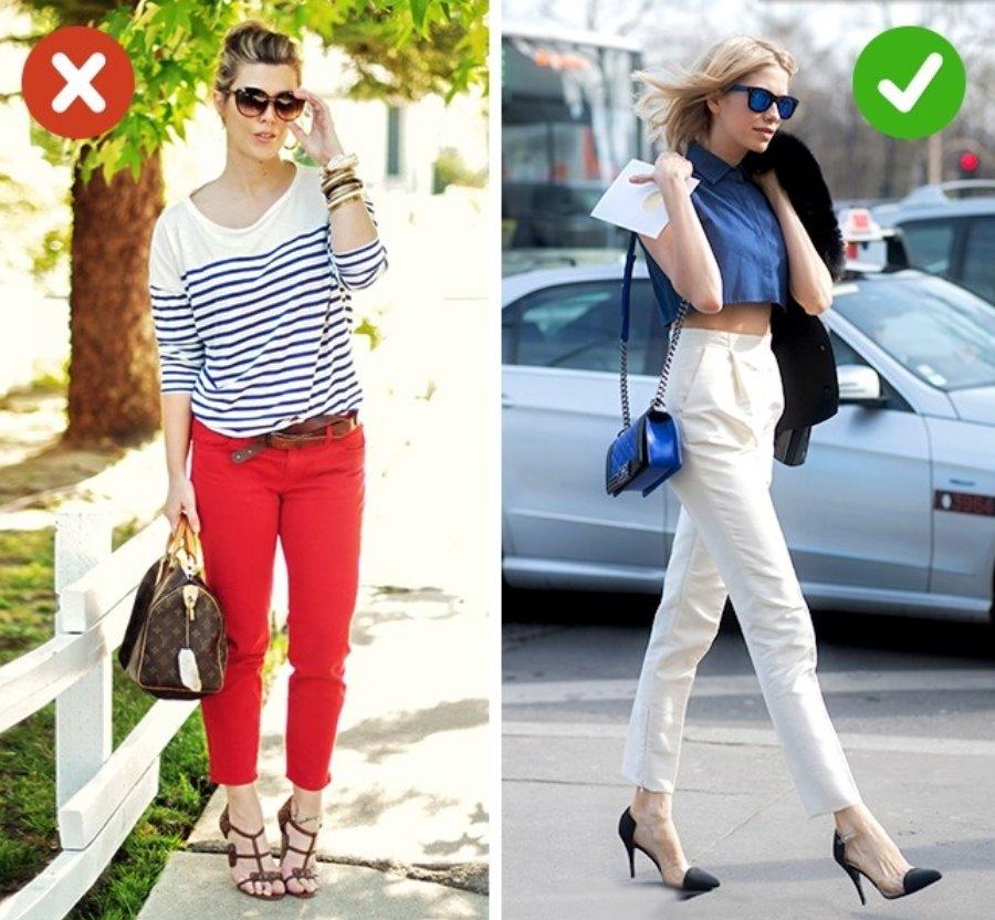 Only tall women can wear short pants