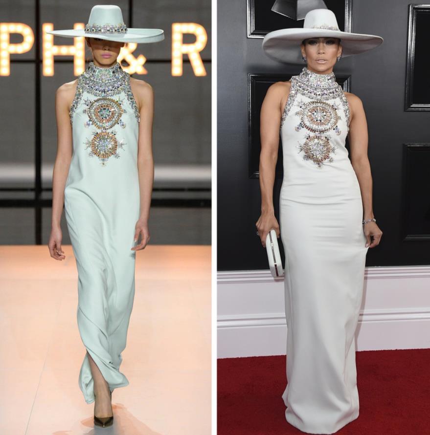 Ralph & Russo - Jennifer Lopez