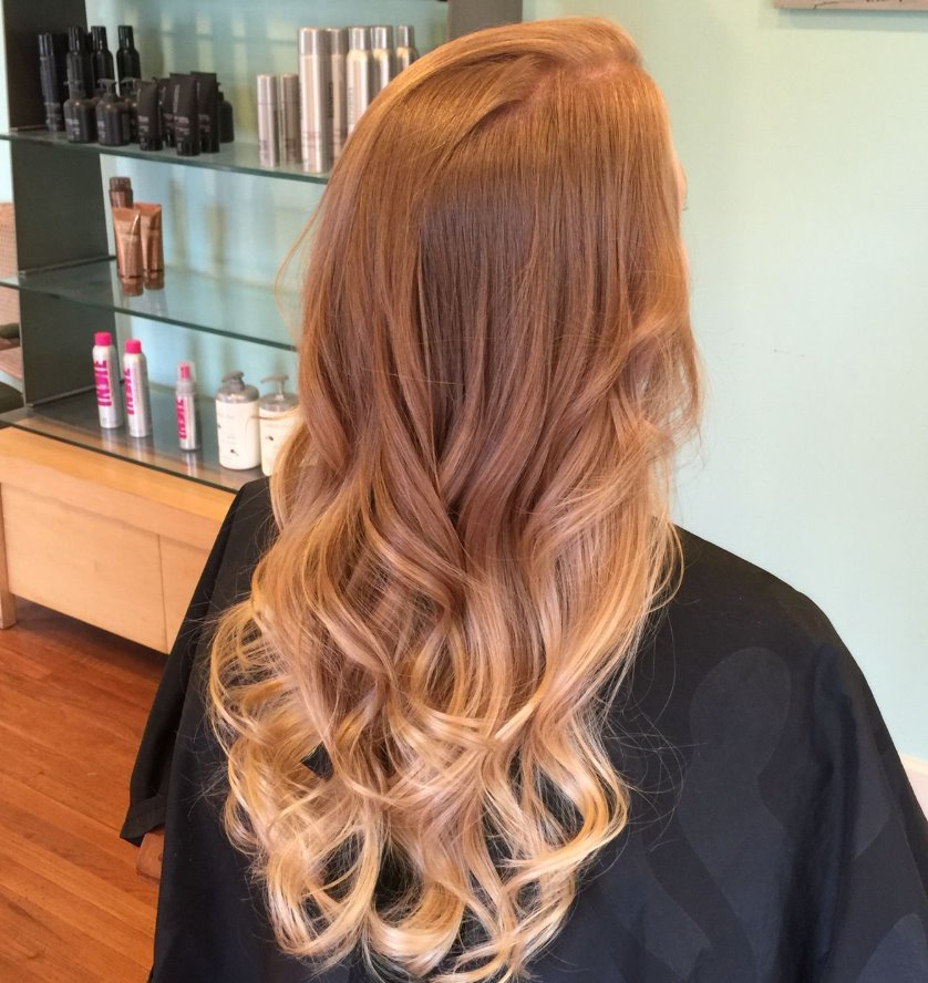 Strawberry blonde hair honey blonde
