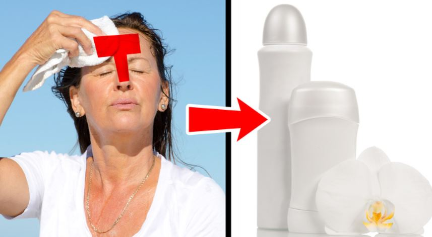 Usage antiperspirant for your T-zone