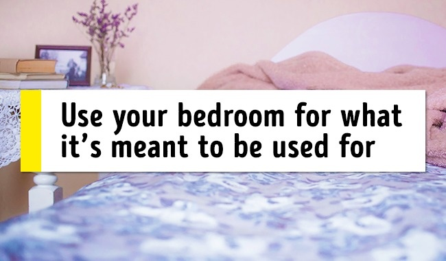 Utilize your room of what is indicated to be utilized for