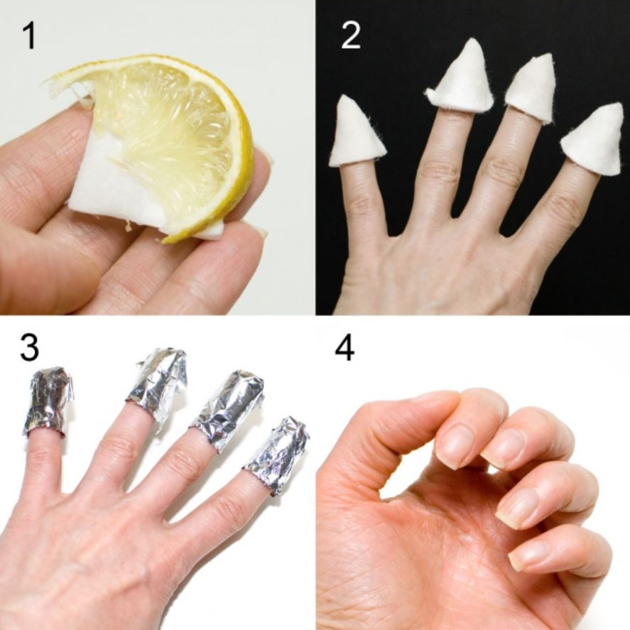 Whitening your nails