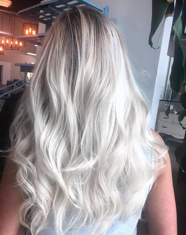 ash blonde color