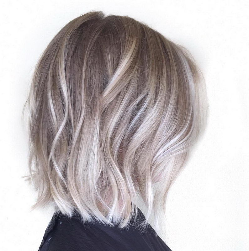 ash blonde hair ombre