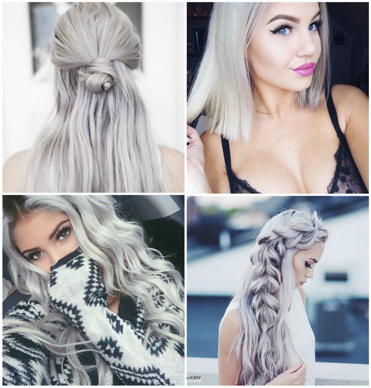 ash blonde hairstyles ideas