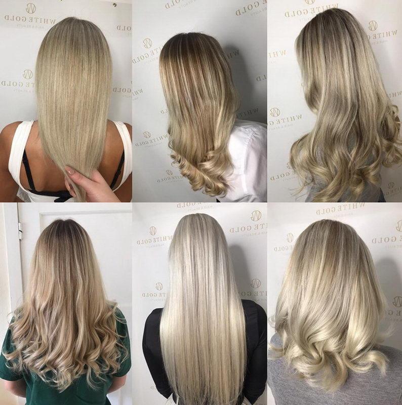 ash blonde models
