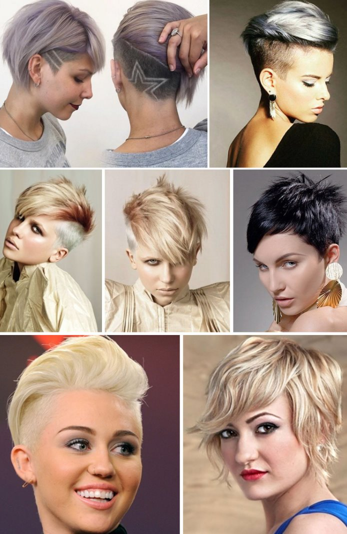 asymmetrical short haircuts