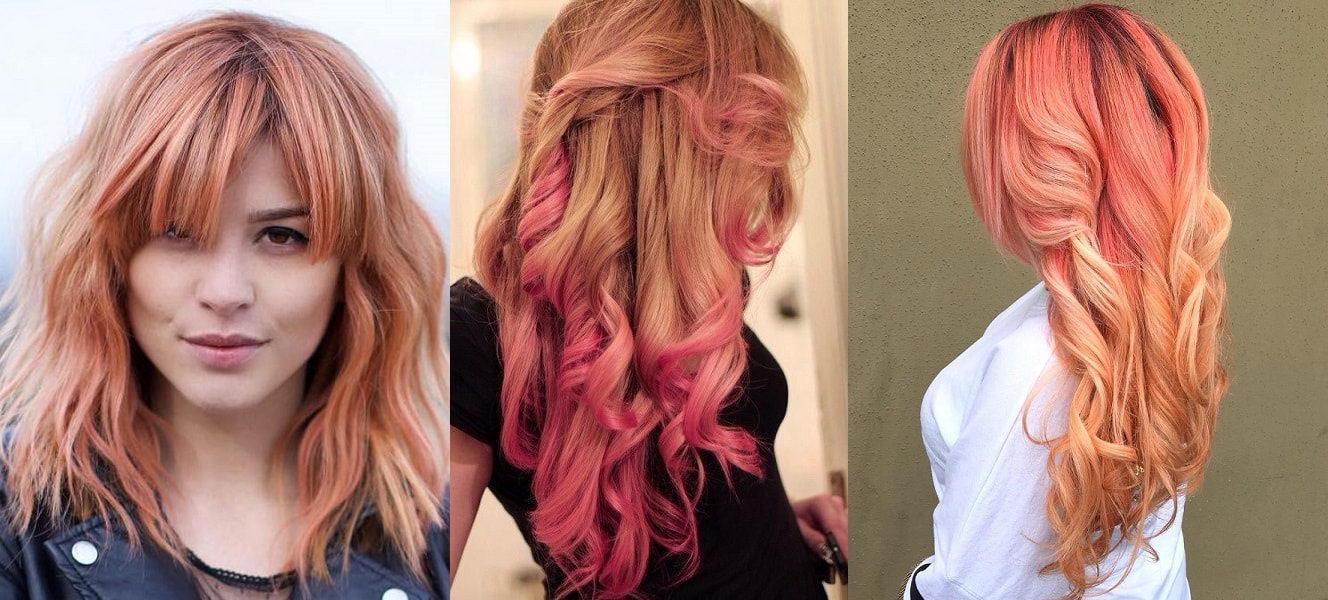 balayage strawberry blonde hair