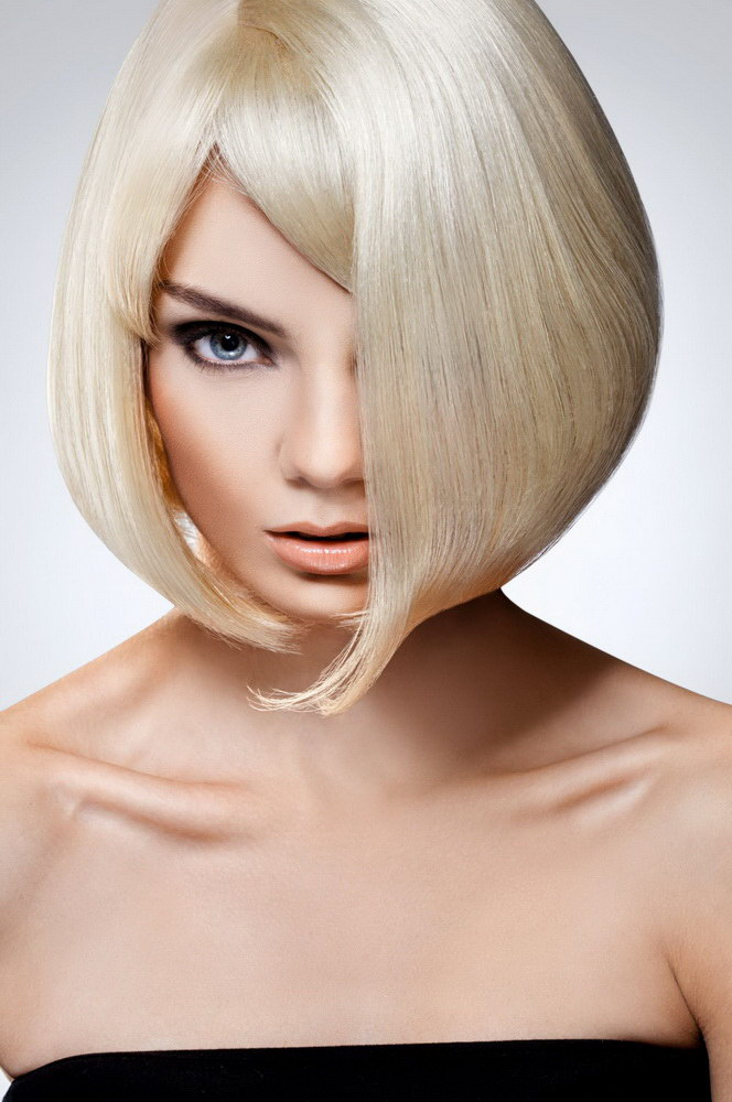 bob haircut for round face