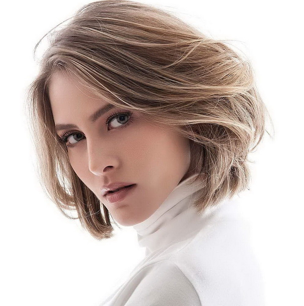 bob haircut for thick hair