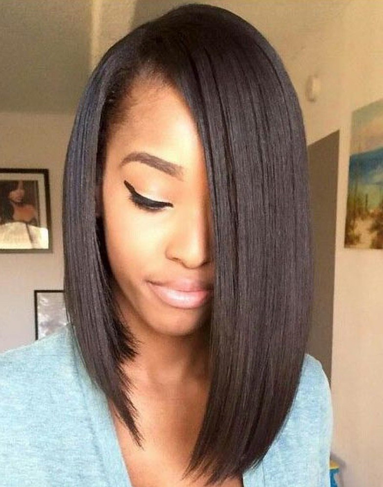 bob haircuts for black women