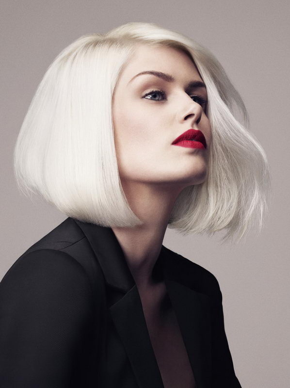 bob white hair
