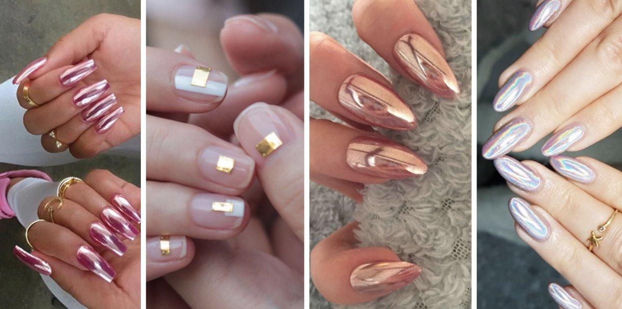 chrome nails ideas