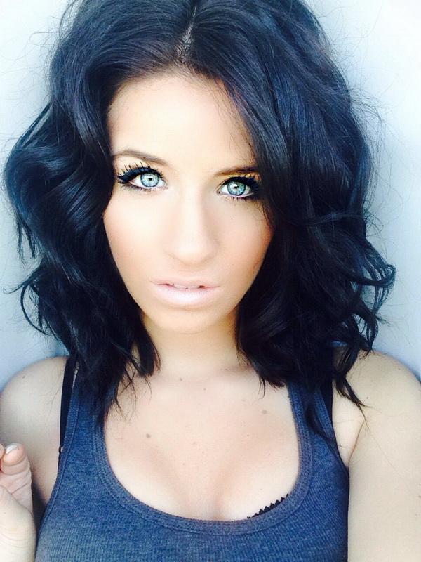 dark blue hair dye