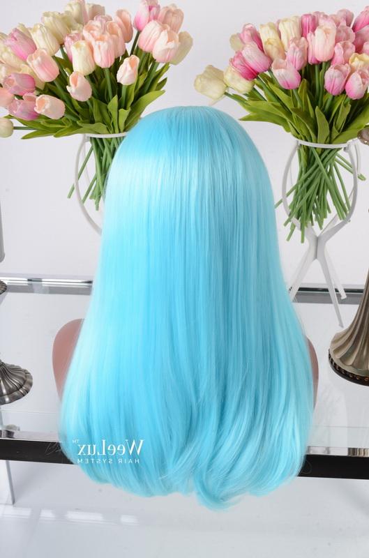 faded blue hair