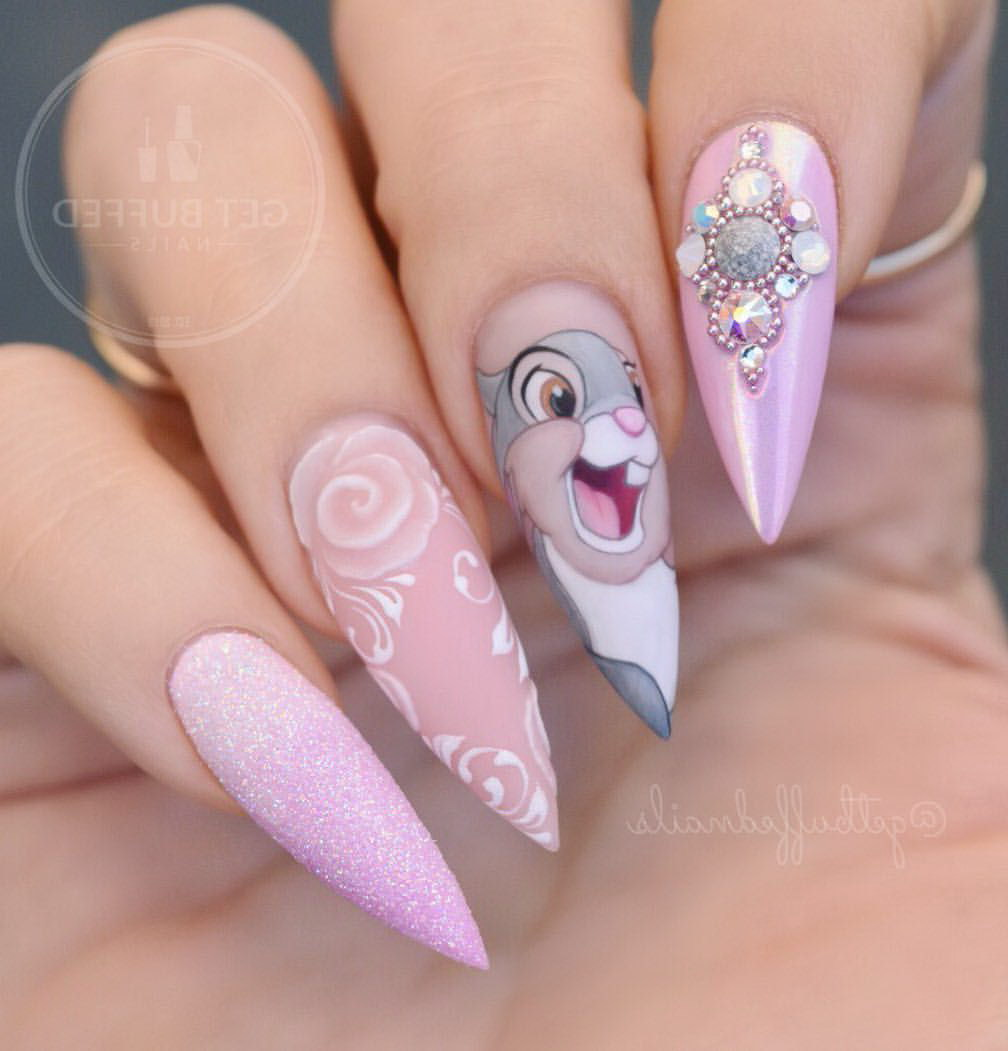 funny fake nails