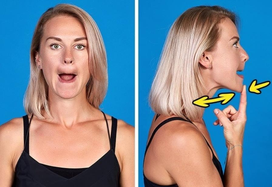 jaw exercises for jawline