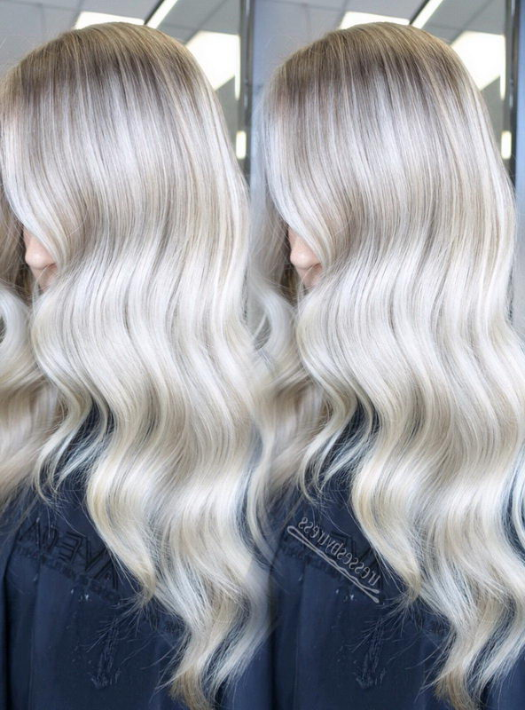 lightest ash blonde