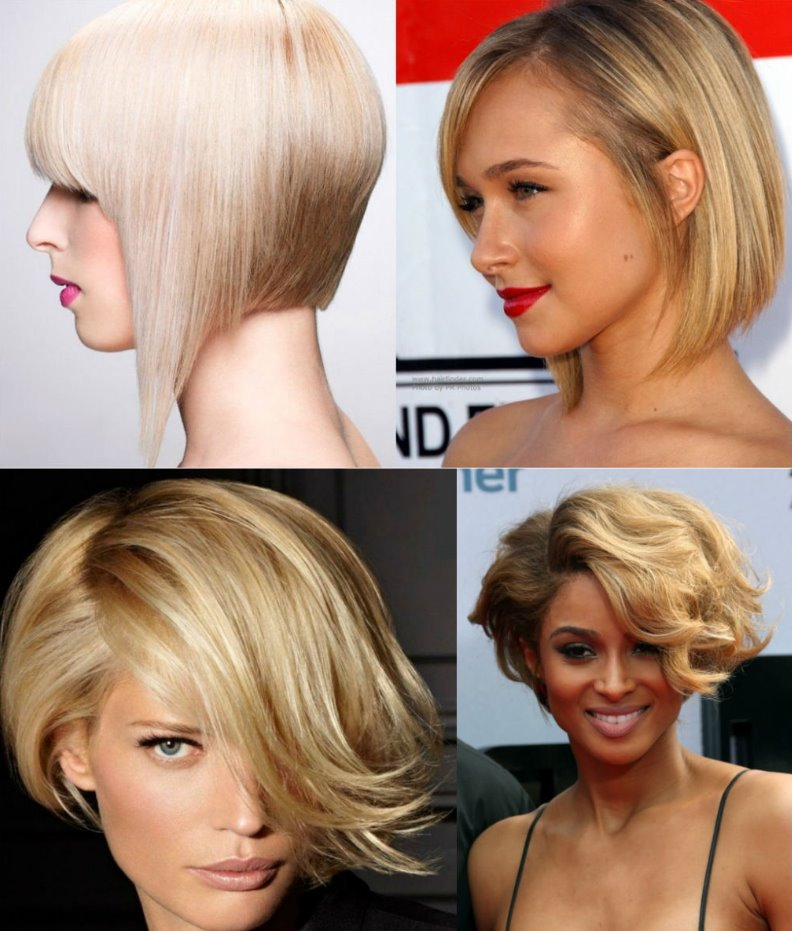 medium short haircuts for round faces