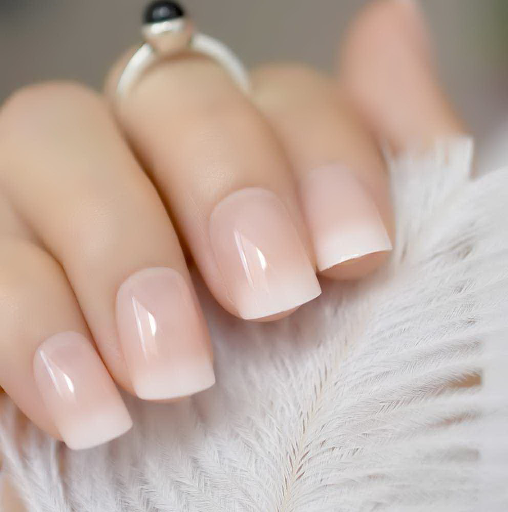 natural looking fake nails