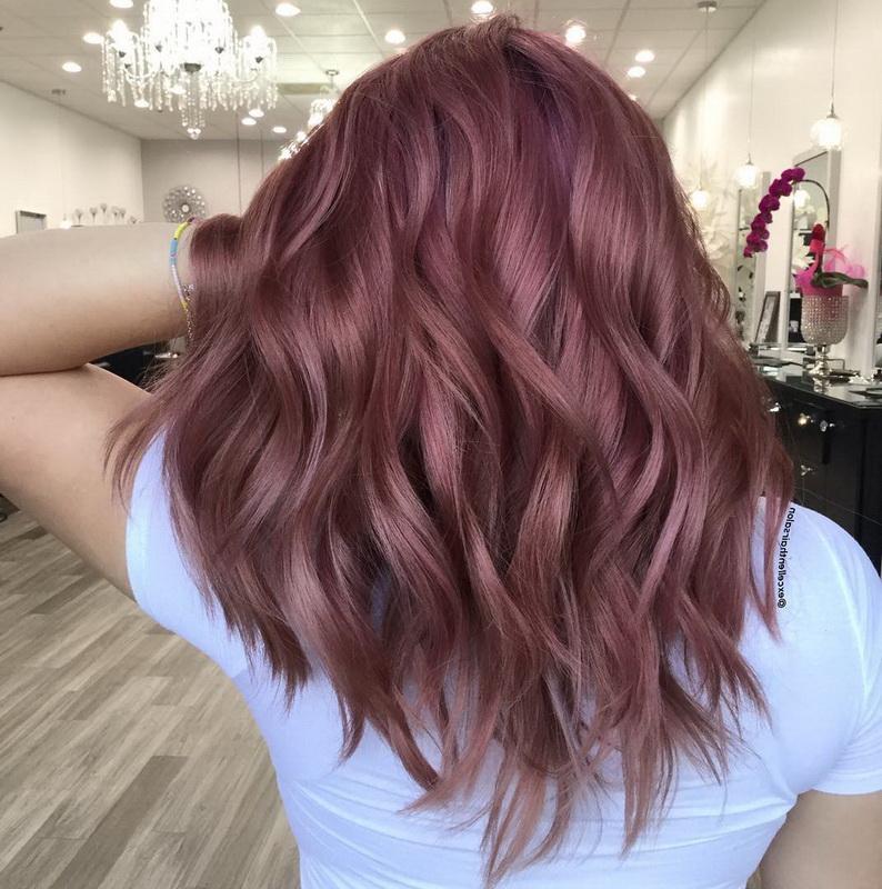 60 Sensational Rose Gold Hair Color Ideas For 2020 Yve Style Com