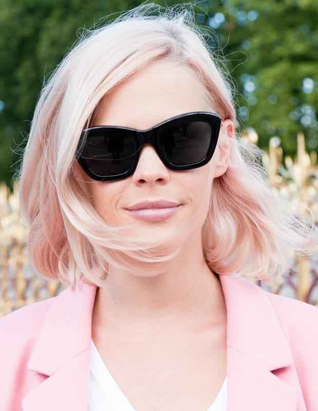 pink hair highlights