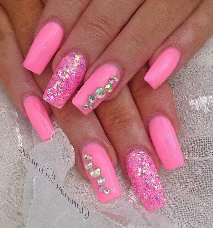 pink nails ideas