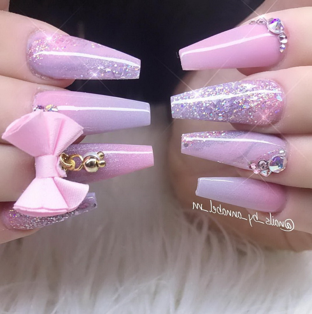 pink regal nails