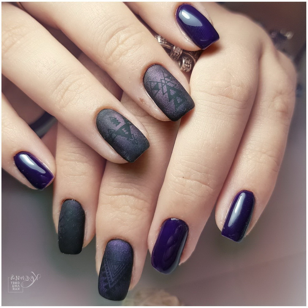 purple regal nails