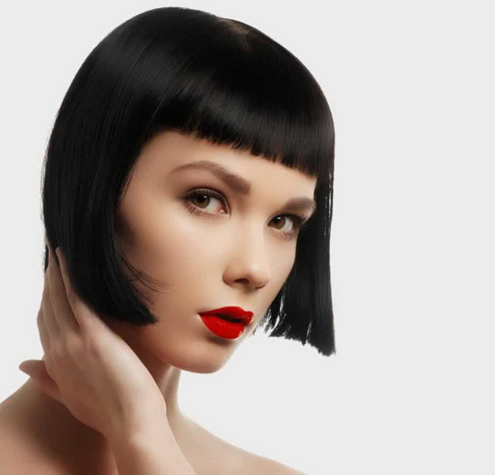 short bob haircut for thin hair