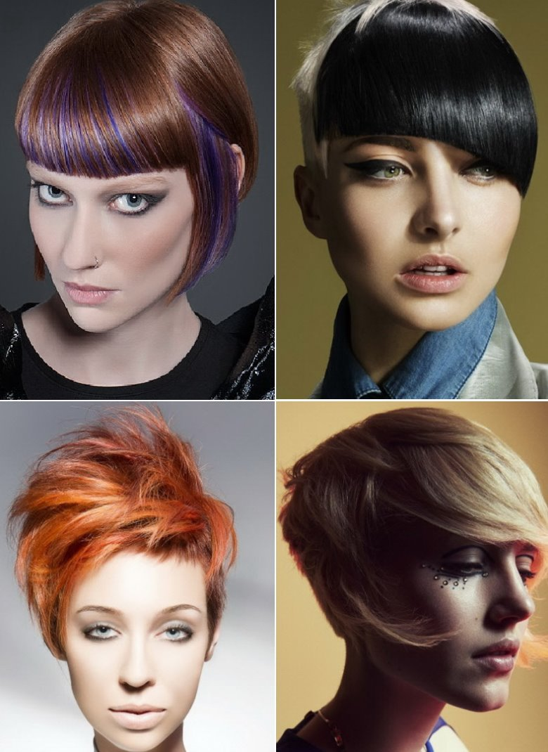 short funky haircuts
