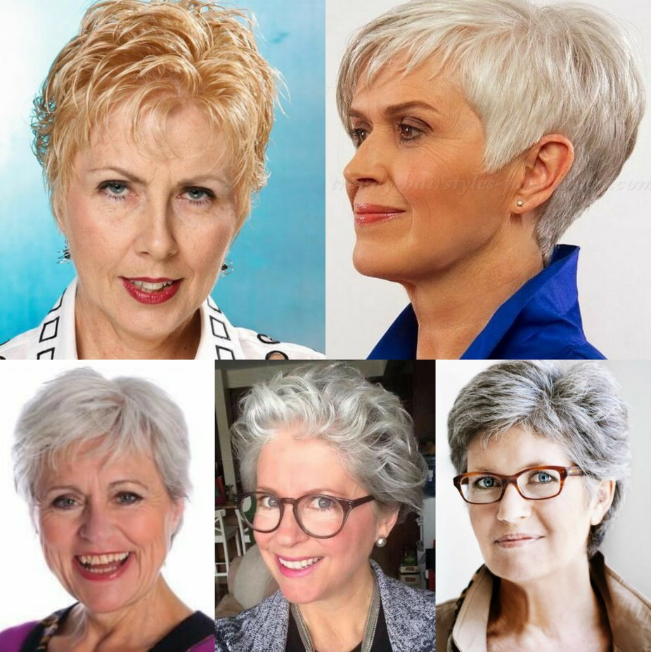 short spiky haircuts for over 50