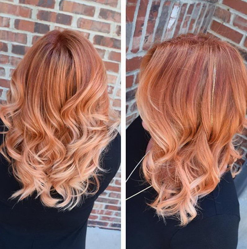 strawberry blonde hair color ideas