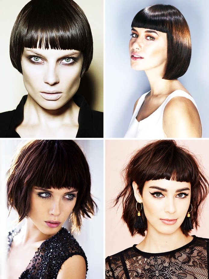 thick hair short haircuts