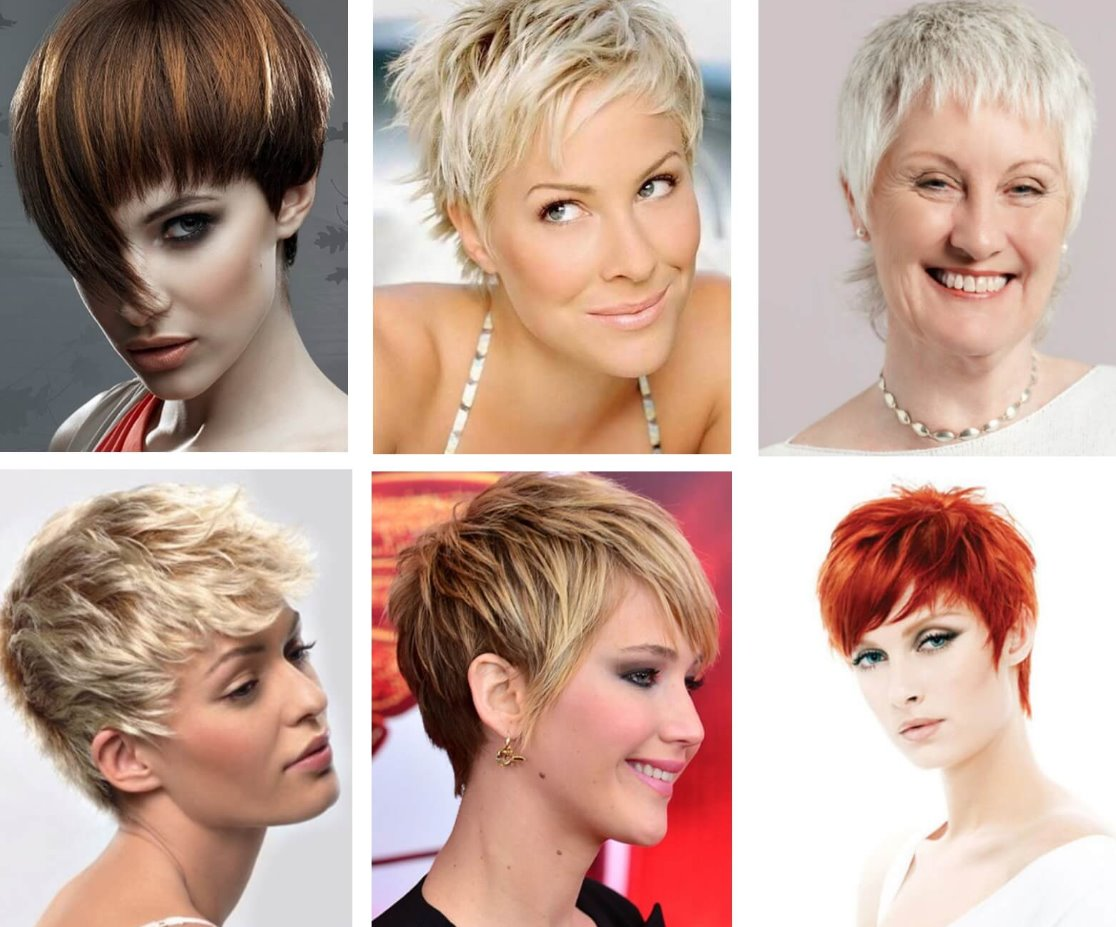 types of short haircuts