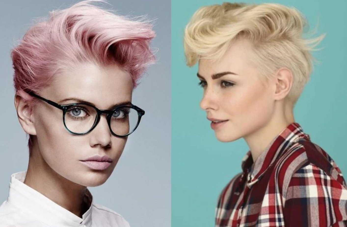 young women short haircuts