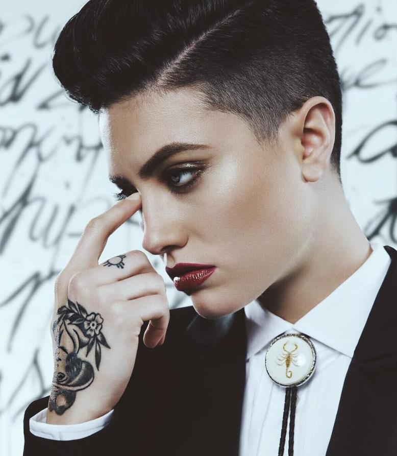 Androgynous Soft side cut
