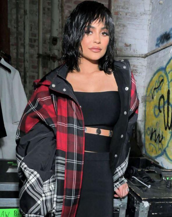 Kylie Jenner Wet Hair