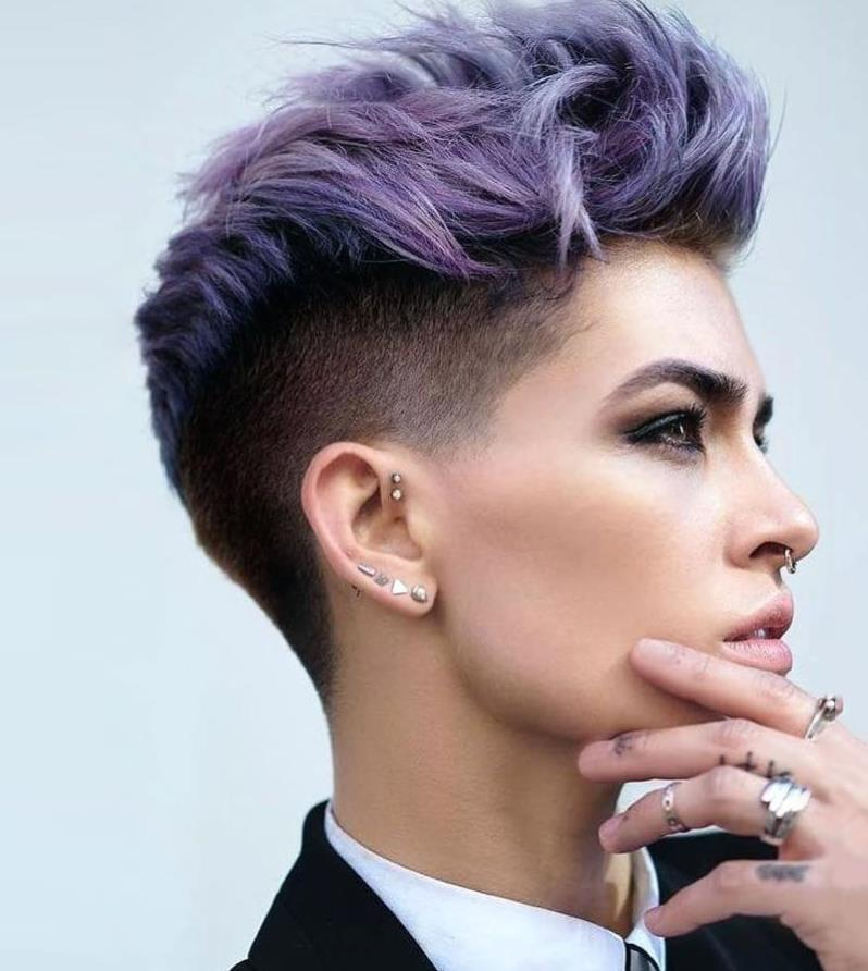 Pixie Androgynous Haircut