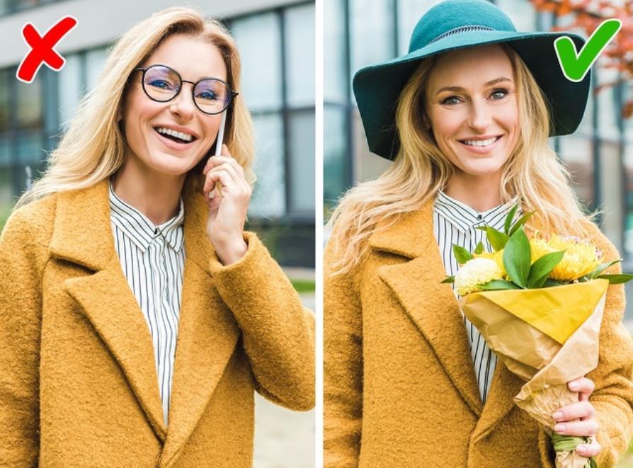 Prevent using glasses