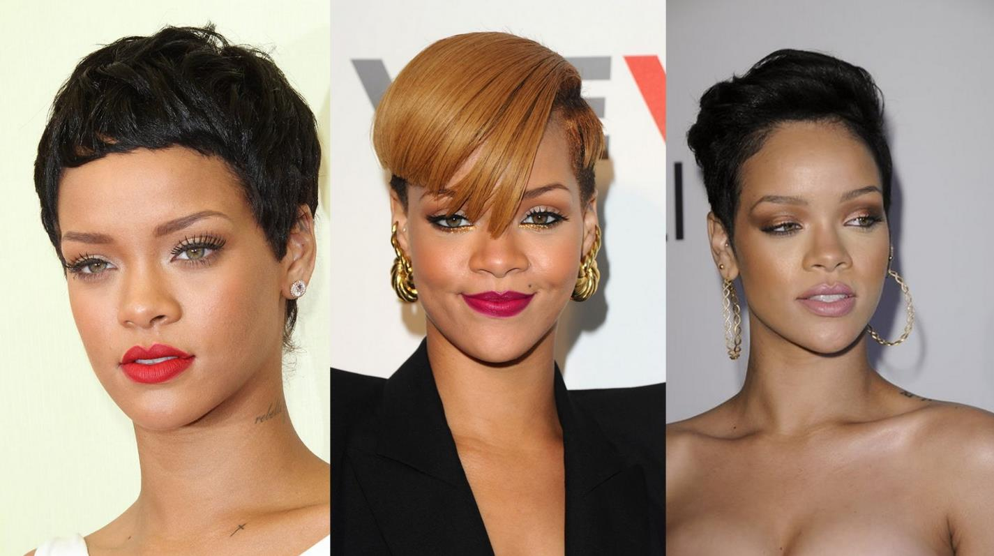 Rihanna Androgynous Haircut