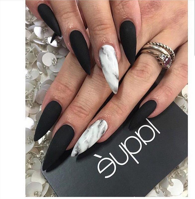 long black nail