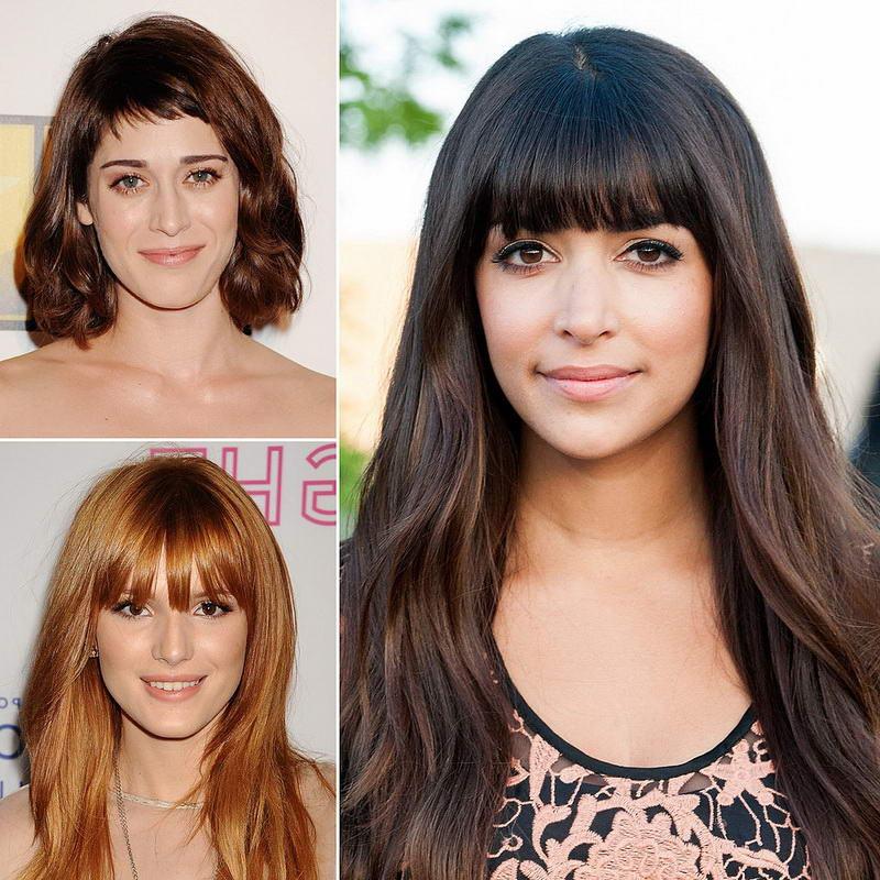 medium long hairstyles