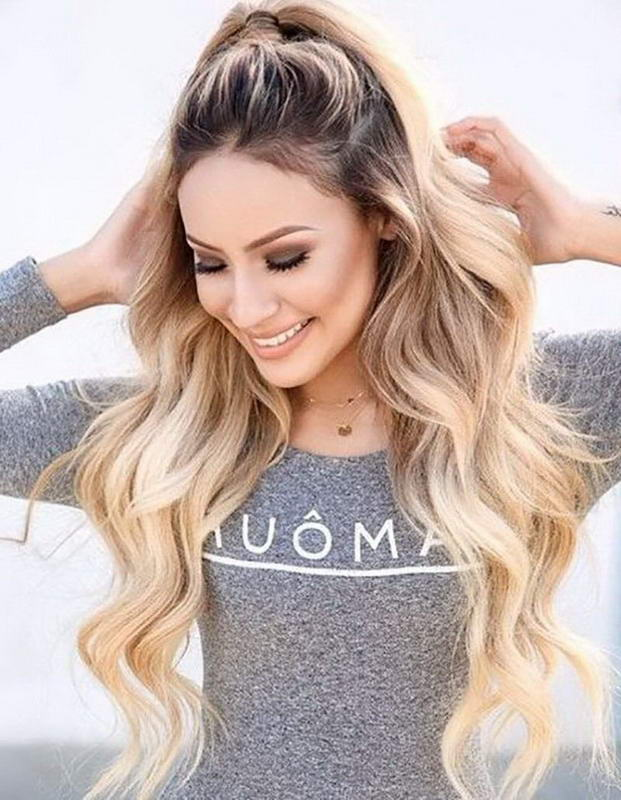 ponytail long hairstyles