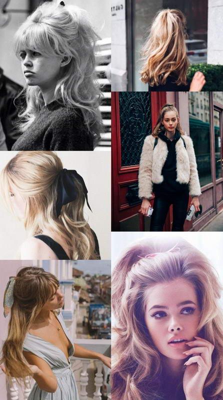 retro long hairstyles